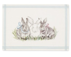 w-s bunny placemat